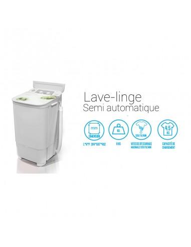 *Iris Machine à laver 4.5 KG Lavage...